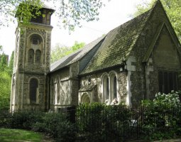 London Architecture, United Kingdom, St Pancras Old Church