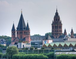 Mainz Cathedral, Germany, Panorama