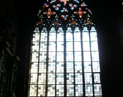 Mainz Cathedral, Germany, Stained glass