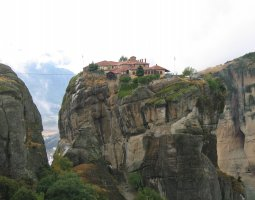 Meteora, Greece, The Great Meteoron 008