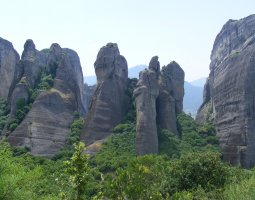 Meteora, Greece, Rocks 004