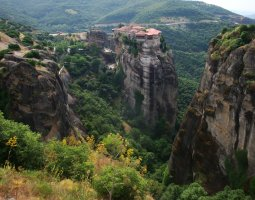 Meteora, Greece, Varlaam Monastery 005