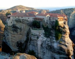 Meteora, Greece, Varlaam Monastery 003