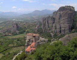 Meteora, Greece, The Great Meteoron 004