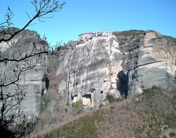 Meteora, Greece, The Great Meteoron 010