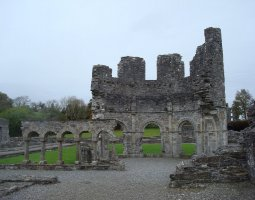 Monasterboice, Ireland, Cathedral ruins
