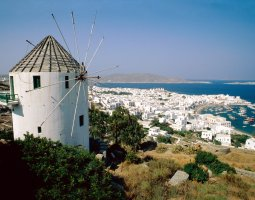 Mykonos, Greece, Windmill