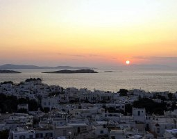 Mykonos, Greece, Sunset