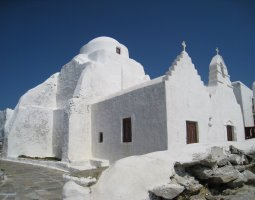 Mykonos, Greece, Church
