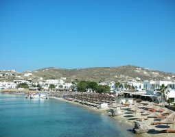 Mykonos, Greece, Beach