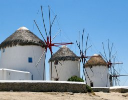 Mykonos, Greece, Windmill 4