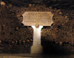Paris Architecture, France, Inscription on The Catacombs