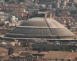 Rome Architecture, Italy, Pantheon roof
