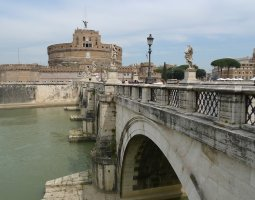 Rome Architecture, Italy, Ponte Sant Angelo