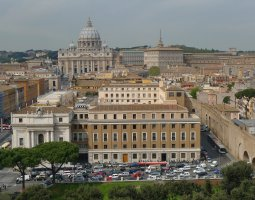 Rome Architecture, Italy, Sight from Castel Sant Angelo