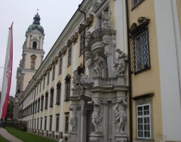Saint Florian Abbey, Austria, Entrance exterior view