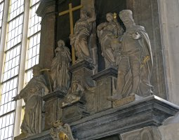 Saint Paulus Dom, Munster, Germany, Interior statues