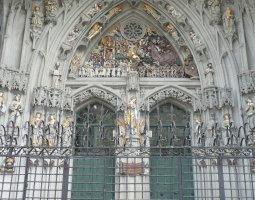Saint Paulus Dom, Munster, Germany, Front entrance