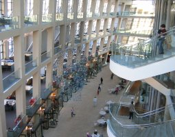 Salt Lake City, USA, Public Library interior view