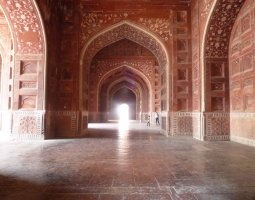 Taj Mahal, India, Mosque, Interior Architecture