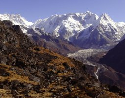 Tallest Mountains, Kangchenjunga, Himalayas, View from a base camp