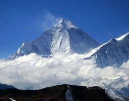 Tallest Mountains, K2, Dhaulagiri, Peak panorama