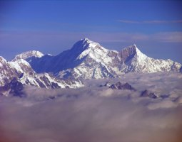 Tallest Mountains, Kangchenjunga, Himalayas, Aerial view