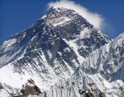 Tallest Mountains, Nepal, Mount Everest, Closeup view