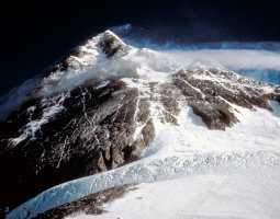 Tallest Mountains, Nepal, Mount Everest, Summit pyramid from Sol Col