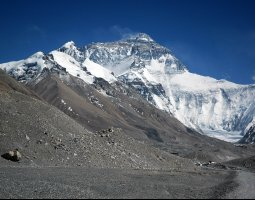 Tallest Mountains, Nepal, Mount Everest, Seen from Rongbuk