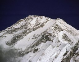 Tallest Mountains, K2, Dhaulagiri, South face closeup view