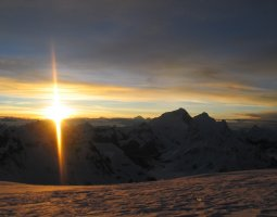 Tallest Mountains, Cho Oyu, Himalayas, Sunrise over the Everest