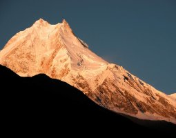 Tallest Mountains, Manaslu, Nepal, Himalaya, Sunrise