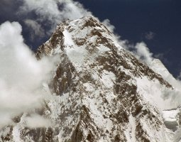 Tallest Mountains, K2, Mount Godwin Austen, West Face from Concordia