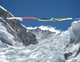 Tallest Mountains, Mount Everest, Lhotse Face and Khumbu Ice Fall