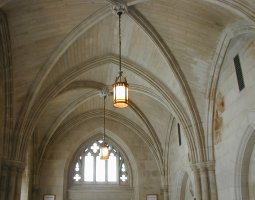 National Cathedral, Washington, U.S.A., Narthex vaulting
