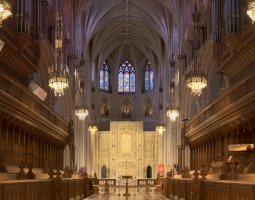 National Cathedral, Washington, U.S.A., Interior view