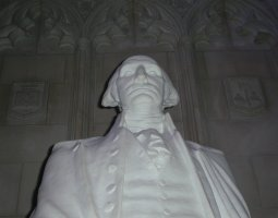 National Cathedral, Washington, U.S.A., Statue of George Washington