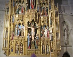 National Cathedral, Washington, U.S.A., Iconostasis
