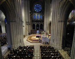 National Cathedral, Washington, U.S.A., Ford funeral procession