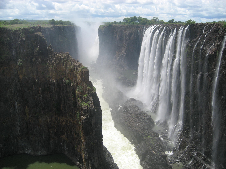 Zimbabwe Africa Victoria Falls Canyon View