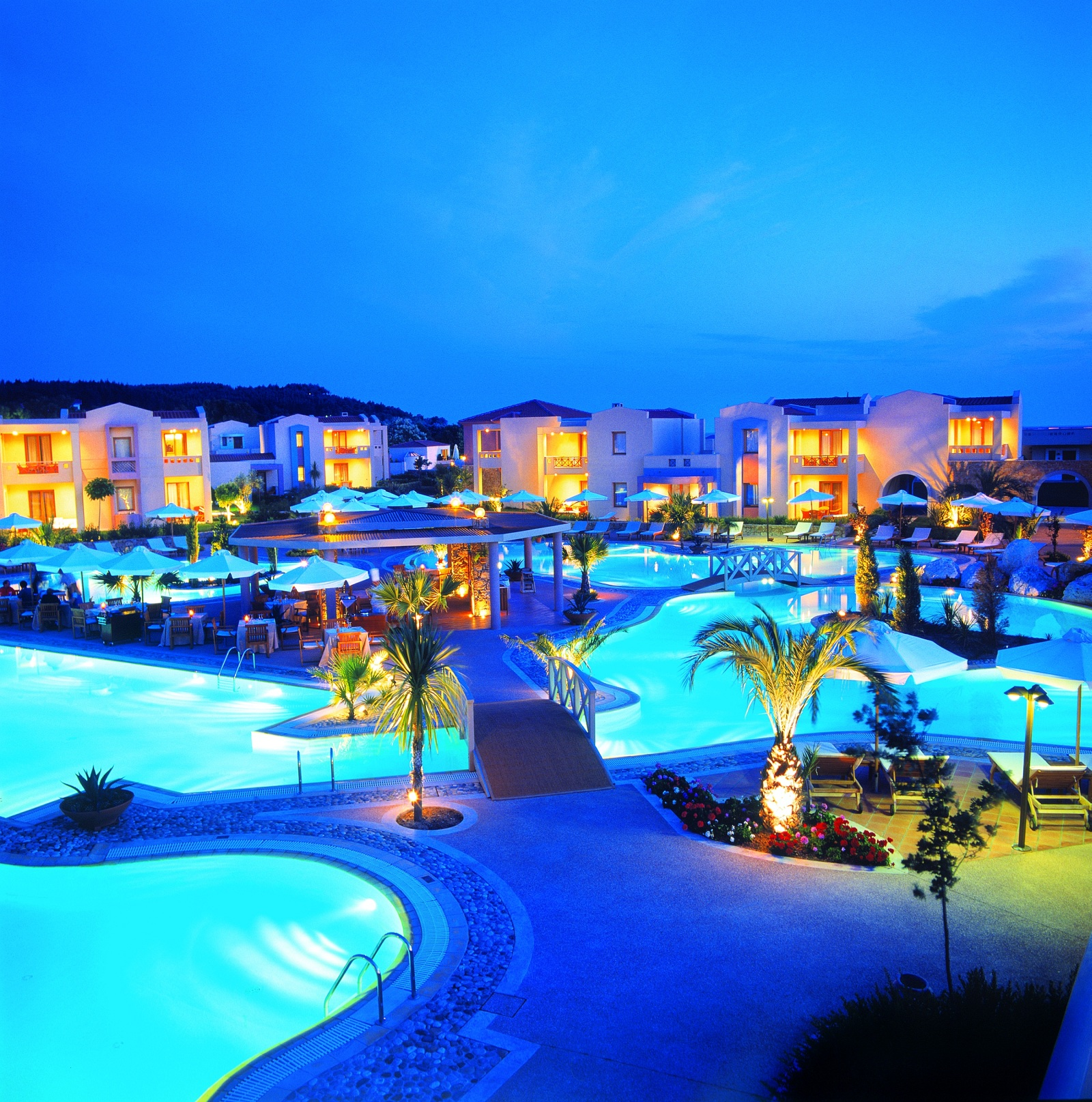 Hottest Families Resorts Halkidiki Greece Sani Beach Resort Overview