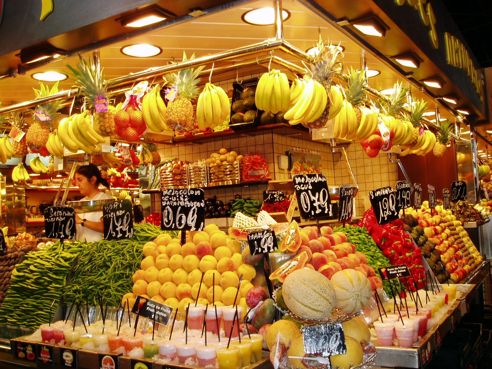 Barcelona Food Market La Boqueria