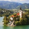 Stunning Places Holiday, Slovenia, Lake Bled, Isle with church