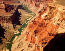 Grand Canyon, U.S.A, River panorama