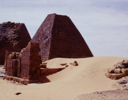 Kerma, Sudan, Royal cemetery of ancient Meroe